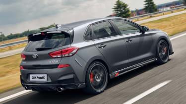 Hyundai i30 N Project C - rear tracking