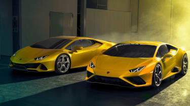 Lamborghini Huracan EVO RWD and Lamborghini Huracan EVO