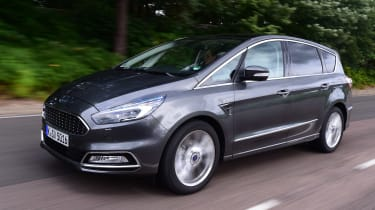 Ford S-MAX Vignale - front