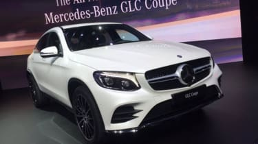 Mercedes GLC Coupe New York 2016 - front