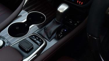 Lexus RX - centre console