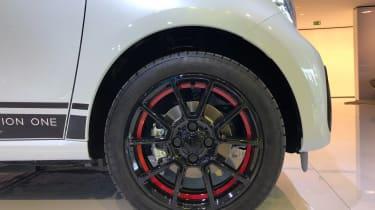 Smart EQ ForFour - Frankfurt wheel