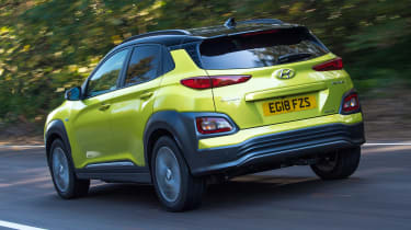 Hyundai Kona Electric Premium SE - long term first report rear tracking