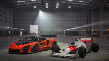 McLaren Senna factory