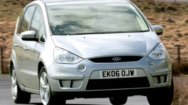 Front view of Ford S-MAX