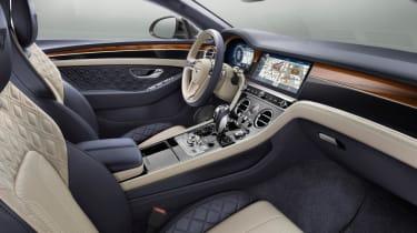 Bentley Continental GT interior - Footballers' cars