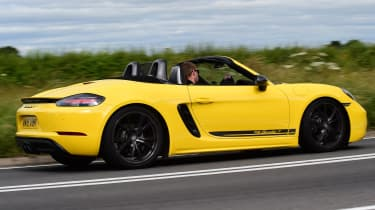 Porsche Boxster T - side tracking