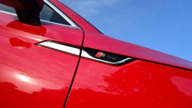 Twin test - Audi A5 - badge