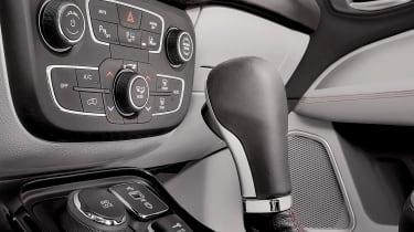 2017 Jeep Compass - interior controls