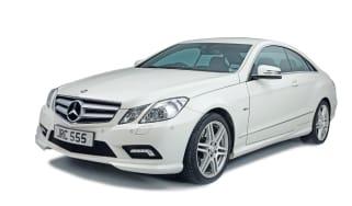 Mercedes E-Class Coupe front