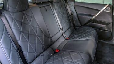 BMW iX prototype - rear seats