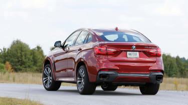 New BMW X6 M50d 2014 rear