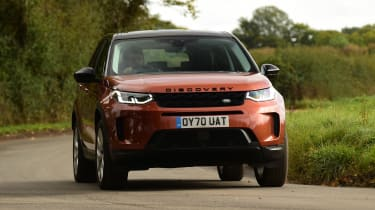 Land Rover Discovery Sport D180 first report - front action