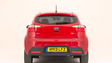 Used Kia Rio - full rear
