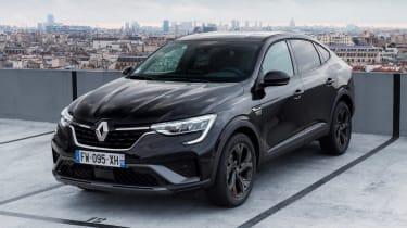 Renault Arkana - front static black