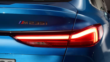 BMW 2 Series Gran Coupe - rear light studio