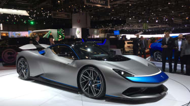 Pininfarina Battista at Geneva Motor Show 2019