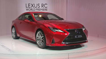 Lexus RC - Paris - Front