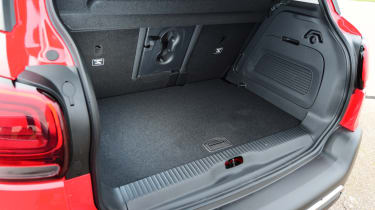 Citroen C3 Aircross - boot space