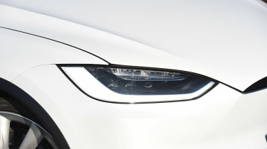 Tesla Model X - front light detail