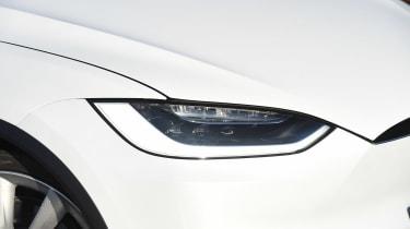 Tesla Model X - front light detail