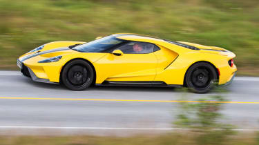 Ford GT Norway road trip - side