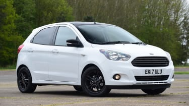 Ford Ka+ White Edition - front static