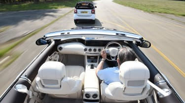 Convertible megatest - S 500 and Smart
