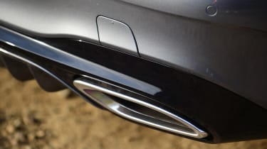 Mercedes SL 400 - exhaust
