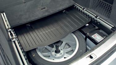 Audi A6 Avant 2.7 TDI spare wheel