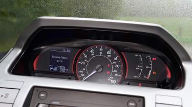 LDV EV80 dashboard