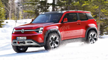 VW electric off-roader - front (watermarked)