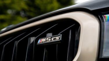 BMW M5 CS - grille badge