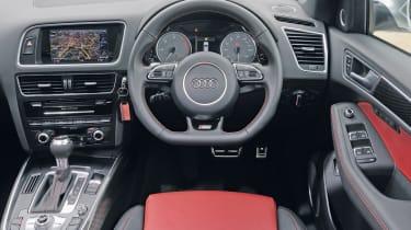 Audi SQ5 interior