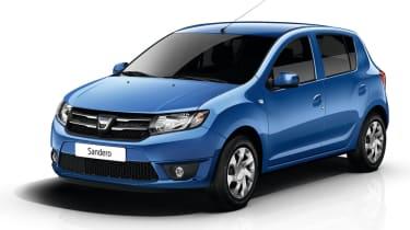 Dacia Sandero front action