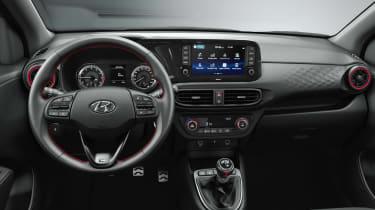 Hyundai i10 N Line - dash