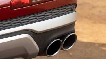 Audi SQ7 - exhausts