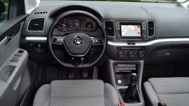 Volkswagen Sharan dash