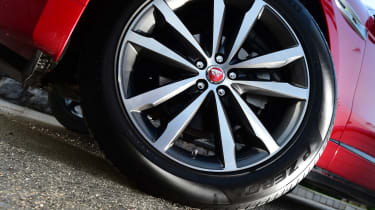 Jaguar F-Pace first drive - wheel