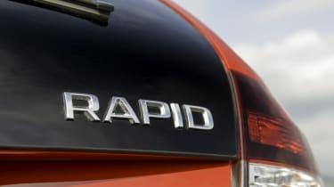 Skoda Rapid Spaceback badge