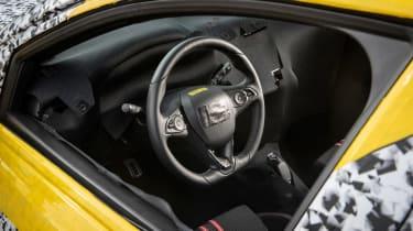 Vauxhall Corsa prototype - interior