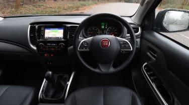 Fiat Fullback - dash