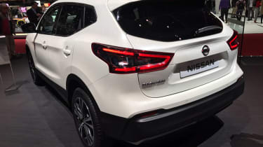 Facelifted Nissan Qashqai show - rear