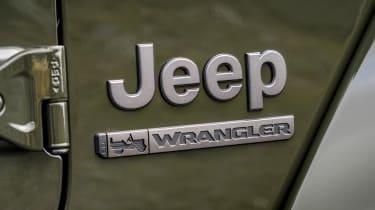 Jeep Wrangler - badge