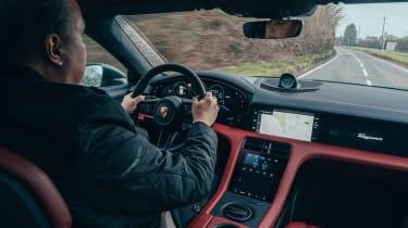 Porsche Taycan Cross Turismo prototype - Steve Fowler