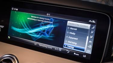 Mercedes S-Class coupe - infotainment
