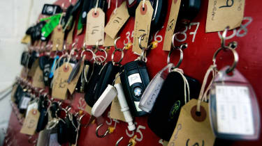 How to buy a used police car - keys