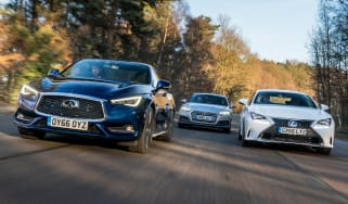 Infiniti Q60 vs Lexus RC vs Audi A5