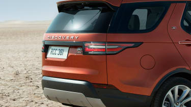Land Rover Discovery 2017 - official rear