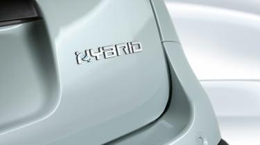 Fiat Panda hybrid - badge